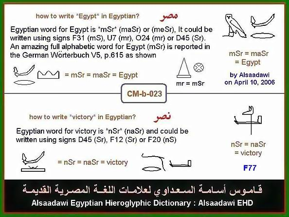 Learning Egyptian Hieroglyphs Ossama Alsaadawi