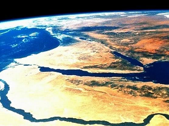 البلاد العربية Sinai-nile