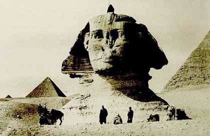 ونطق ابو الهول اخيراً Sphinx-buried-1