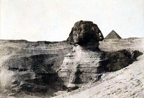 ونطق ابو الهول اخيراً Sphinx-buried-2