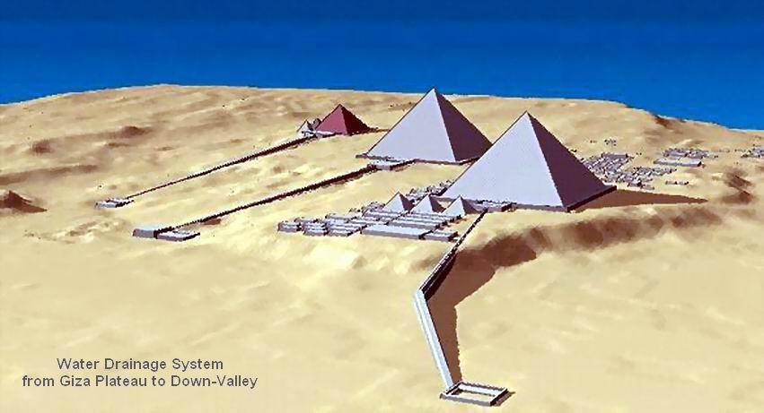 اسرار معجزات بناء الاهرام pyramids-drainage-system.jpg